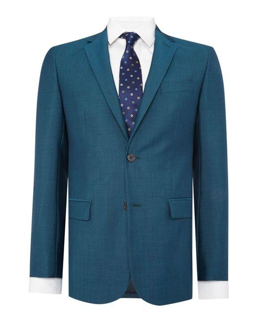 Richard James - Blue Sharkskin Sb2 Ff Suit for Men - Lyst