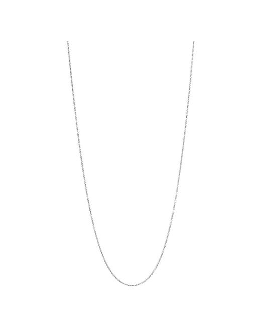 Links of London | Metallic Essentials Sterling Silver 1.2mm Cable Chain 60cm | Lyst
