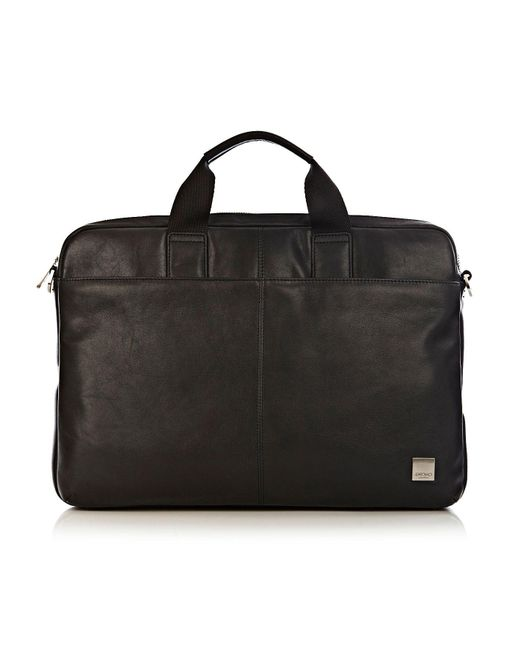 Knomo | Black Durham 15.6 Briefcase Bag for Men | Lyst