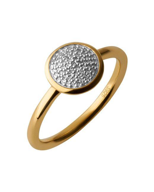 Links of London - Metallic Diamond Essentials Pave Ring - Ring Size P - Lyst