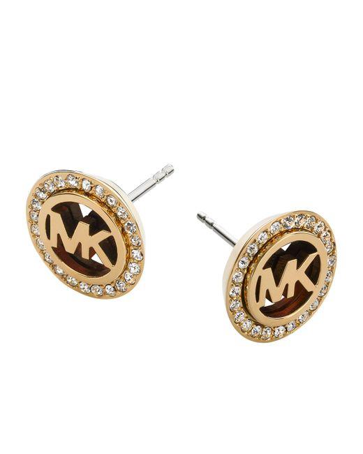 Michael Kors - Metallic Mkj2943710 Ladies Earrings - Lyst
