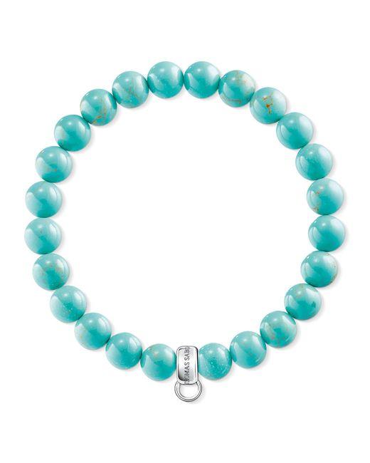 Thomas Sabo - Blue Charm Club Turquoise Charm Bracelet - Lyst