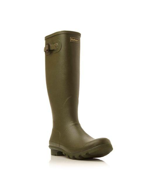Barbour - Green Bede Wellington Boots for Men - Lyst