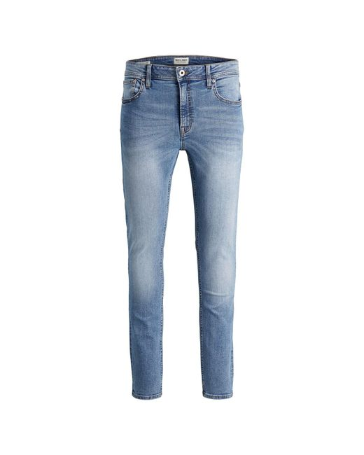 Jack & Jones Blue Liam Skinny Jeans for men