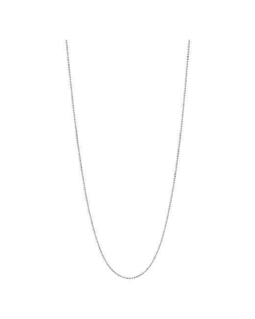Links of London | Metallic Essentials Sterling Silver 1.5mm Ball Chain 60cm | Lyst