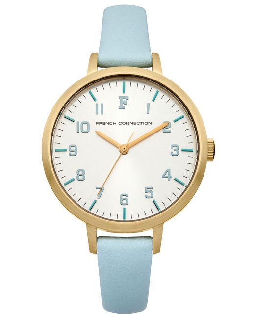 French Connection - Green Ladies Strap Watch - Lyst