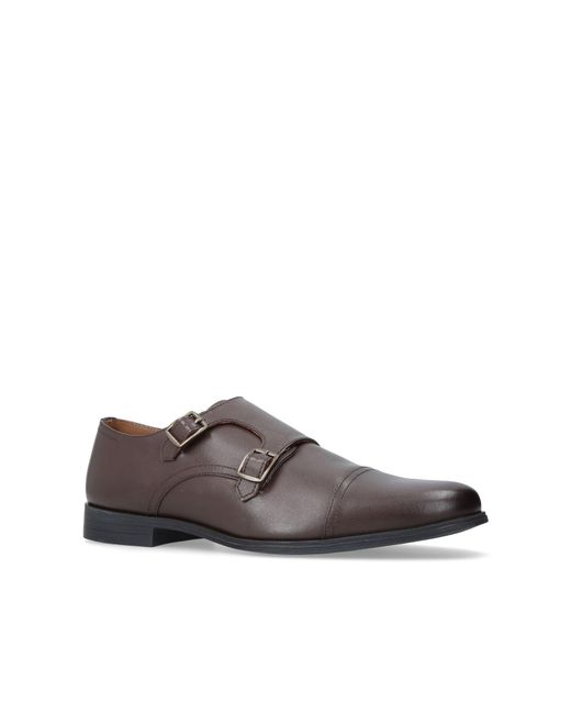 KG by Kurt Geiger - Brown Manning Double Monk Shoes for Men - Lyst