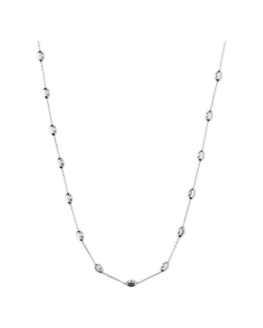 Links of London - Metallic Beaded Chain Necklace 45cm - Lyst