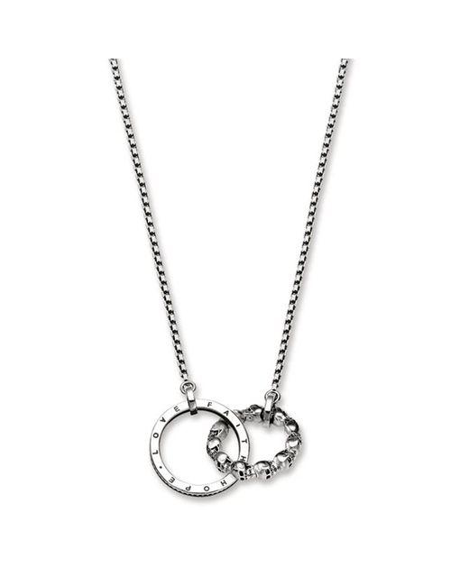 Thomas Sabo Metallic Rebel At Heart Skull Pavé Necklace