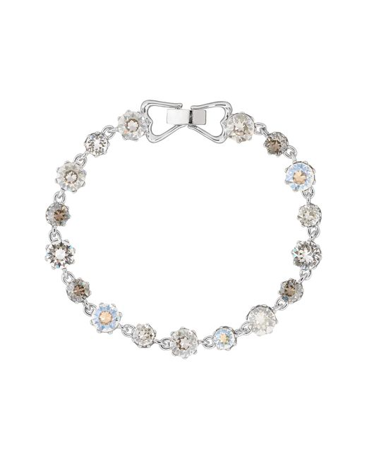 Ted Baker | Metallic Chaley Crystal Crown Bracelet | Lyst