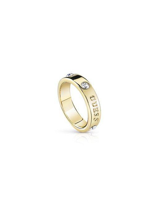Guess | Metallic Hoops I Did It Again Ring | Lyst