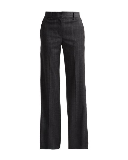 French Connection | Gray Georgie Suiting Wide Leg Trousers | Lyst