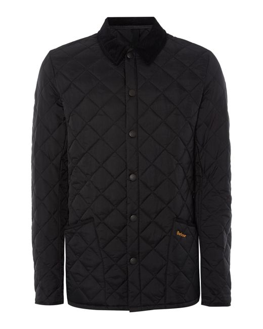 Barbour - Black Heritage Liddesdale Quilted Jacket for Men - Lyst