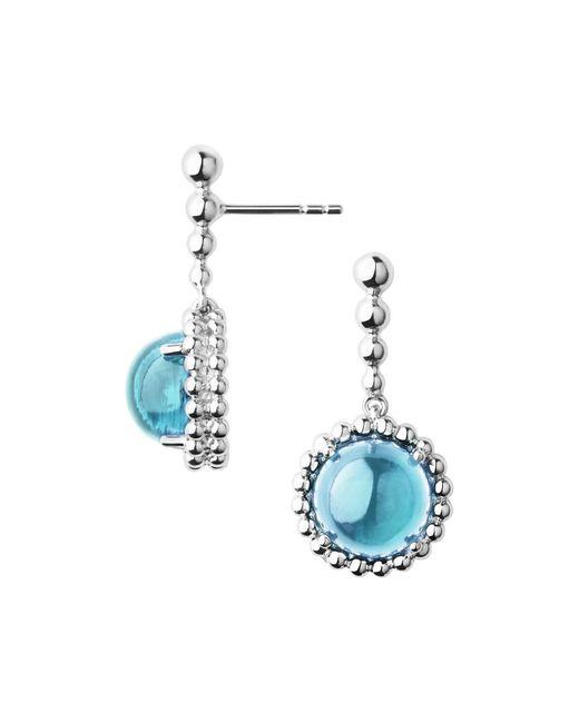 Links of London Metallic Effervescence Gems Sterling Silver & Blue Topaz D