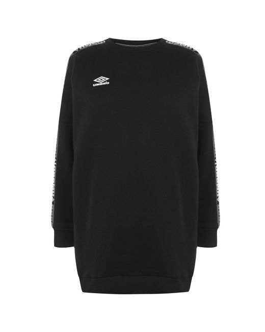 Umbro Black Batwing Sweater Dress