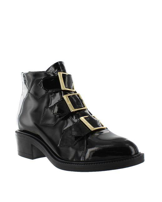 Marta Jonsson | Black Women`s Ankle Boot With Zip | Lyst
