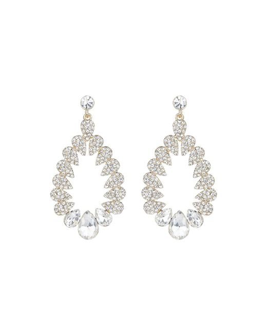 Mikey - Metallic Multi Oval Marquise Filligree Earring - Lyst