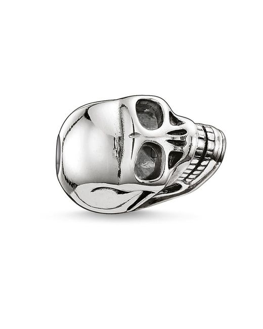 Thomas Sabo | Metallic Karma Bead Small Skull | Lyst