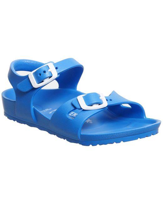 Birkenstock - Blue Rio Eva Kids Sandals - Lyst