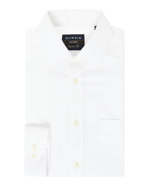 Howick - White Canyon Twill Shirt for Men - Lyst