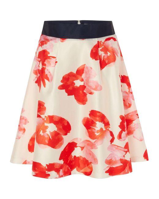 Studio 8 Red Sizes 12-26 Belle Skirt