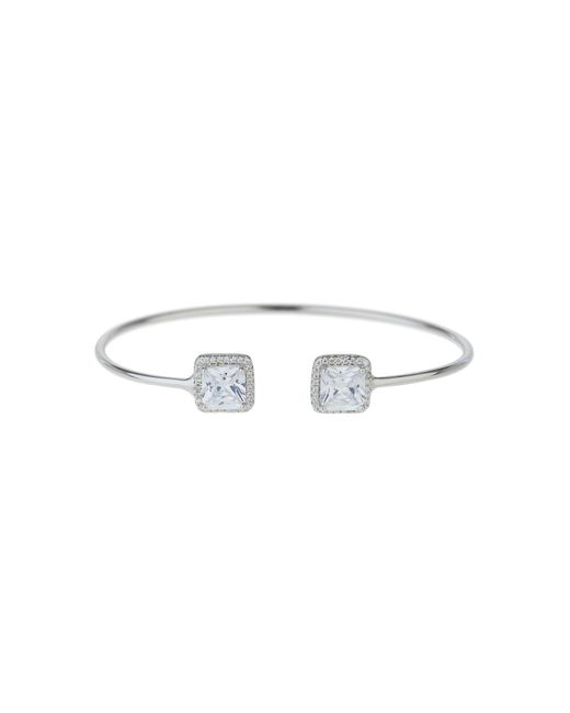 Mikey - Metallic Sterling Silver 925 Twin Square Filigree - Lyst
