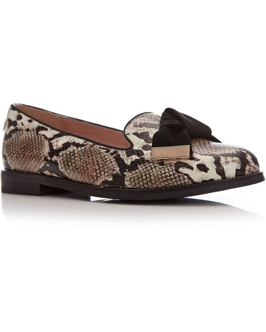 Moda In Pelle Natural Astrella Low Smart Shoes