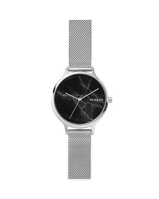 Skagen - Metallic Anita Steel-mesh Watch - Lyst