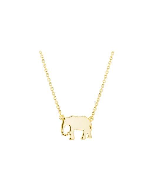 Daisy London - Metallic Elephant Good Karma Necklace - Lyst