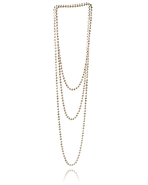 Jersey Pearl - Metallic Freshwater Pearl Necklace - Lyst