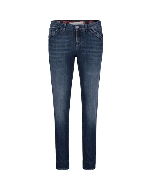 Betty Barclay Blue Five-pocket Jeans
