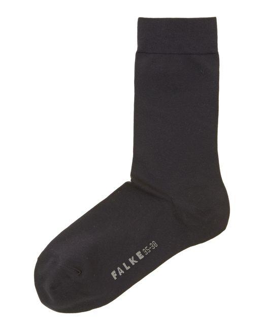Falke - Blue Cotton Touch Ankle Socks - Lyst