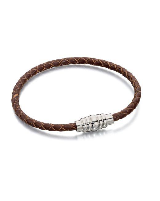 Fred Bennett | Brown B4727 Mens Bracelet for Men | Lyst