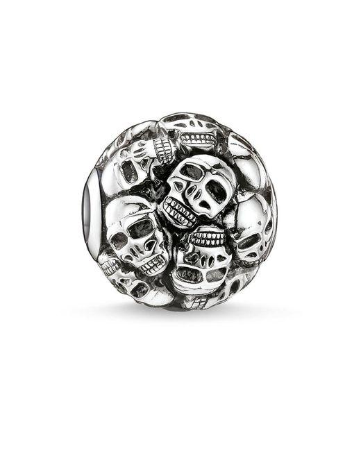 Thomas Sabo | Metallic Karma Bead Skulls | Lyst