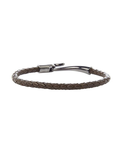 Ted Baker | Brown Chewer Woven Leather Bracelet for Men | Lyst