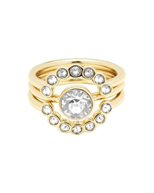 Ted Baker | Metallic T13170202 Cadyna Crystal Ring | Lyst