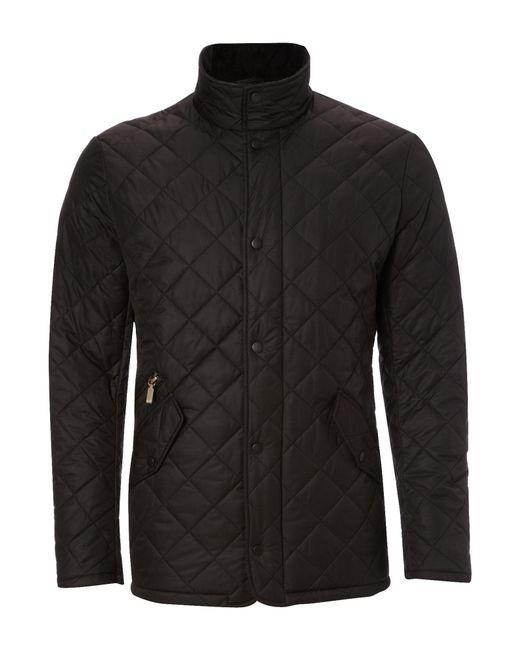 Barbour | Black Chelsea Sportsquilt Jacket for Men | Lyst