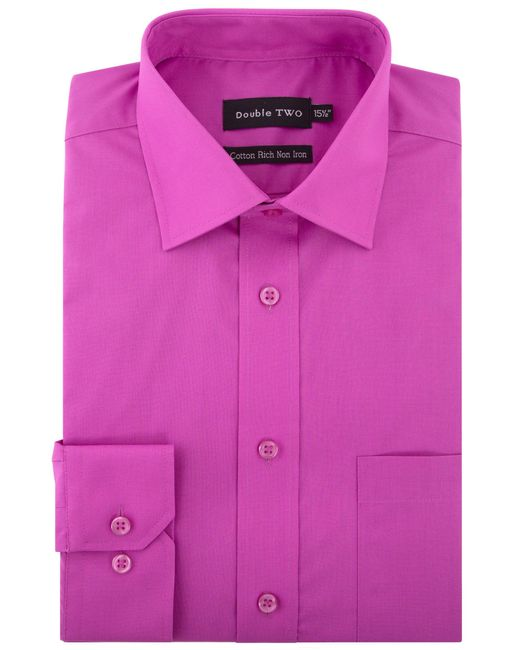 Double Two | Pink Long-sleeved Shirt for Men | Lyst