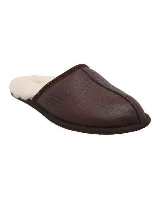 Ugg | Brown M Scruff Mule Slip On Slippers for Men | Lyst
