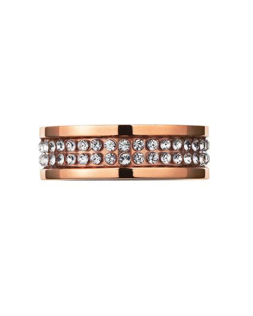 Dyrberg/Kern | Pink Fratianne Rose Gold Ring | Lyst