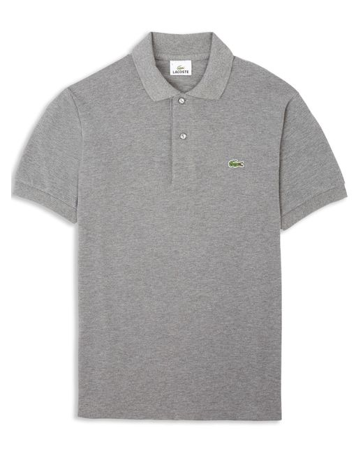 Lacoste   Gray Classic Marl Polo Shirt for Men   Lyst