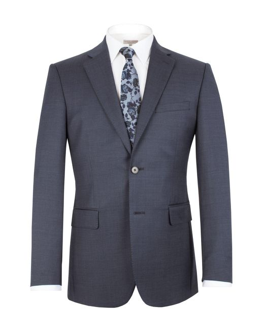Alexandre Of England   Blue Pin Dot Notch Collar Classic Fit Suit Jacket for Men   Lyst