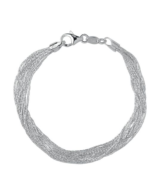 Links of London | Metallic Silk 10 Row Bracelet | Lyst