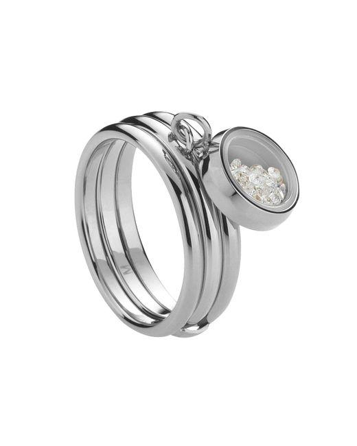 Storm | Metallic Silver Mimi Ring | Lyst