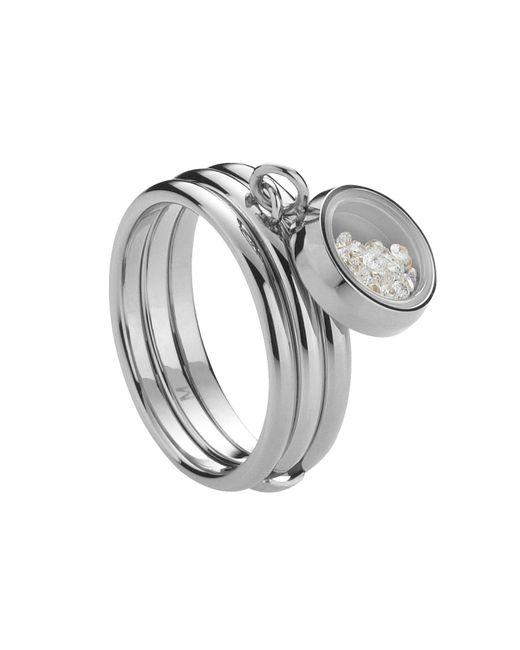 Storm   Metallic Silver Mimi Ring   Lyst