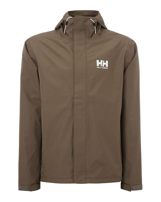 Helly Hansen | Green Seven J Waterproof Mac for Men | Lyst