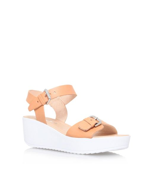Miss Kg | Natural Petunia Platform Sandals | Lyst