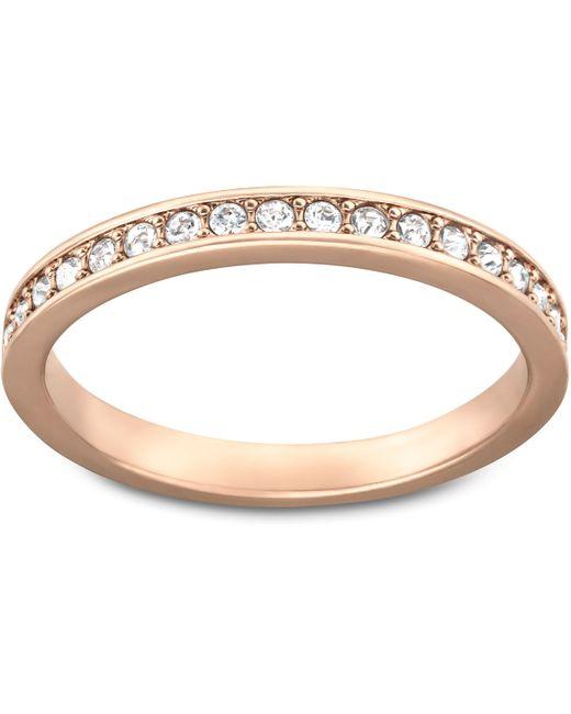Swarovski | Pink Rare Ring | Lyst