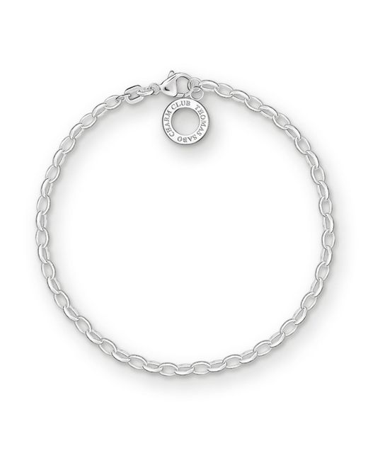 Thomas Sabo | Metallic Charm Club Silver Bracelet | Lyst