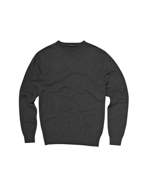 French Connection | Gray Auderly Cotton Crew Neck for Men | Lyst